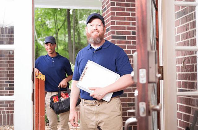 trenton repairman at door